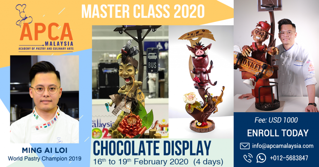 Chocolate Display by Chef Ming 2020