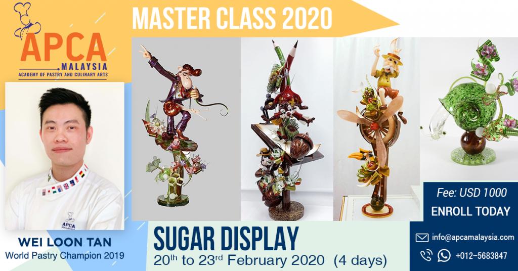 Sugar Art by Chef Tan 2020